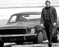 "STEVE McQUEEN IN THE FILM ""BULLITT"" - 8X10 PUBLICITY PHOTO (RT116)"