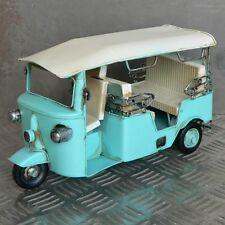 XL Blechmodell TucTuc Taxi Rikscha Motorrikscha Blech Metall Metallmodell Tuktuk