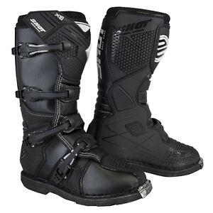 Shot X10 Motocross Boots 2.0 Adult Off Road MX Quad Trail