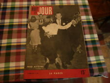 magazine hebdomadaire NUIT ET JOUR  n° 118 mars 1947 fred astaire