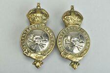 More details for 17th lancers edwardian regimental horse harness bit bosses. ref dga8