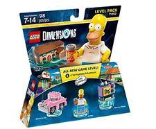 Lego Dimensions 71202 Level Paquet the Simpsons bon Etat