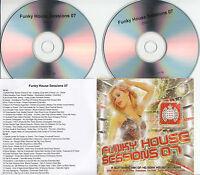 FUNKY HOUSE SESSION 07 Ministry of Sound 2007 UK 40-trk promo test 2CD