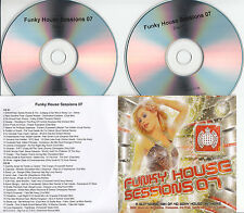 FUNKY HOUSE SESSION 07 Ministry of Sound 2007 UK 40-trk promo test 2CD