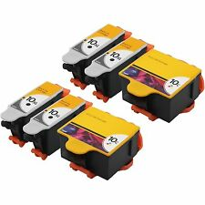 6 PK Compatible Ink 10B 10C for Kodak 10 EASYSHARE 5100 5300 5500 FREE SHIPPING