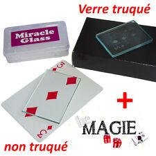 Verre Fantôme Rectangulaire + Verre non-truqué - Ghost glass - Tour de Magie