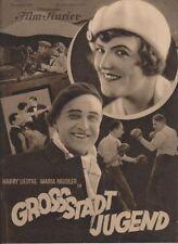 GROSSSTADT-JUGEND (BFK 893, 1928) - MARIA PAUDLER / STUMMFILM