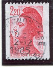 TIMBRE FRANCE OBLITERE N° 2379 TYPE LIBERTE ROULETTE