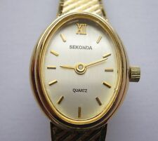 Sekonda Ladies Quartz Gold Watch With Matching Gold Strap and Adustable Buckle