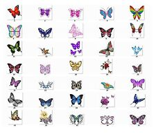 buti3 30 Personalized Return Address Labels Butterflies Buy 3 get 1 free