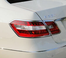 Brand-new CHROME TAILLIGHT TRIM; 2010-2012 Mercedes-Benz E Class SEDAN (W212)