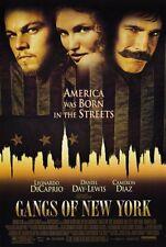 Gangs of New York Film Leonardo Di Caprio Cameron Diaz Kinoplakat Filmposter USA
