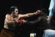 Old Boxing Photo Randall Cobb Lands A Punch Against Larry Holmes