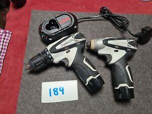 Makita Twin Set 10.8v Li-Ion Cordless HP330D Combi Drill TD090D Impact Driver 89