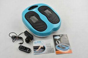 Gymform Leg Action Vibration Massager Foot Leg Remote Control & Instructions
