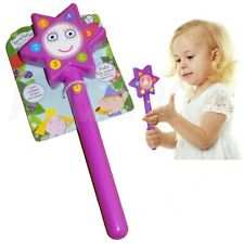 Brand New Ben & Holly's Little Kingdom Magical Wand Purple With Music and Lights