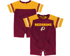Outerstuff NFL Infants Washington Redskins Rusher Coverall Romper, Maroon