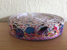 "1m Littlest Pet Shop LPS 7/8"" Grosgrain Ribbon, Cake, Bows, Craft"