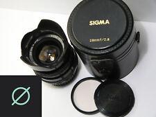 Sigma Mini-Wide 28mm f2.8 Wide Angle Lens *Pentax PK Bayonet Mount*