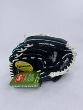 Rawlings Fast Pitch Leather 11.5 Softball Glove Black Right Hand Throw WFP115MT