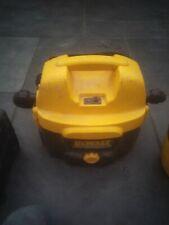 Dewalt DCD500 18 Volt / 110 volt wet and dry vacuum cleaner / used condition