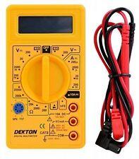 Multímetro Digital Tester Multitester Multi Lectura del Medidor AC DC tamaño de bolsillo