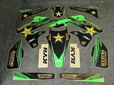 Kawasaki KXF250 2013-2016 Factory FX Rockstar Energy graphics kit GR1206