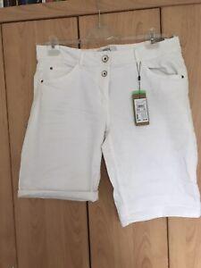 CECIL Weiße Shorts Scarlett Neu,Größe 31