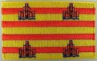 Formentera Aufnäher gestickt,Flagge Fahne,Patch,Aufbügler,6,5cm,neu