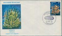 French Polynesia 1978 Sc#C163,SG275 34f Millepora coral FDC