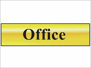 Scan - Office - Polished Brass Effect 200 x 50mm