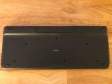 Logitech - K400 Plus Wireless Keyboard - Black