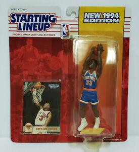 PATRICK EWING New York Knicks SLU NBA Starting Lineup 1994 Action Figure & Card