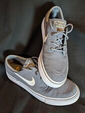 Nike Stefan Janoski Zoom Air Skate Shoes Canvas Size 7.5 Gray