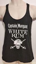 NEW Captain Morgan Men White Rum Light Weight Cotton Blend Tank Top Size M New