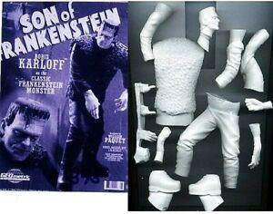 """10""""SON OF FRANKENSTEIN Horror Classic Movies Vinyl Model Kit 1/8"""