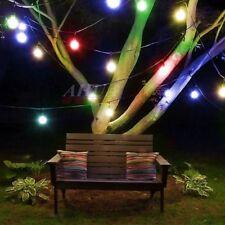 Solar String Lights 30LED Crystal Ball Christmas Trees Garden Party Fairy Lamp H