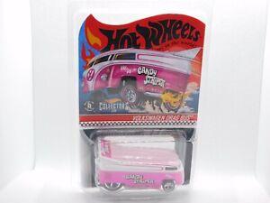 Hot Wheels Volkswagen Drag Bus Candy Stripper RLC Pink Logo Variation #2499/2000