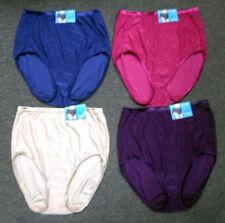 4 pairs VANITY FAIR Brief ILLUMINATION 13109 Panty ASST COLORS Sz -  9 / xxl