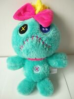 "Disneyland authentic Lilo & stitch fluffy scrump 12"" soft toy plush VGC Disney"