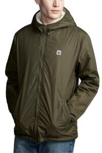 Element Elkins Alder Sherpa Lined Hooded Jacket, Size M. NWT, RRP $119.99.