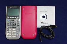 TI-84 Plus Silver Edition Graphing Calculator Texas Instruments TI84 Pink
