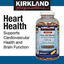Kirkland Fish Oil Blend 1000mg 500Softgel