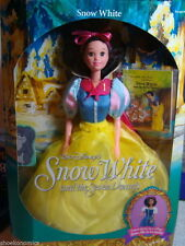 WALT DISNEY SNOW WHITE COLLECTIBLE MATTEL GOLDEN BOOK NEW BARBIE DOLL