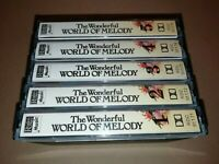 V/A * THE WONDERFUL WORLD OF MELODY * 5 X CASSETTE ALBUM SET 1983 EXCELLENT
