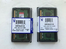 2x Kingston 4GB PC3L-12800 Memory (KVR16LS11/4) SO-DIMM
