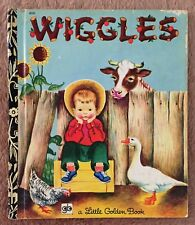 Wiggles ~ Vintage Little Golden Book Sydney #408 ~ Eloise Wilkin