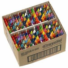 Crayola 288 Assorted Crayons Class Pack 72 Colours