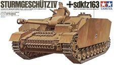 Tamiya 35087 1/35 Model Kit WWII German Tank Sturmgeschutz StuG IV Sd.Kfz 163