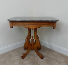 Walnut Side Table Antique Furniture For Sale EBay - Walnut side table with drawer